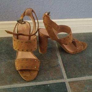 Madewell Stacked Heel Sandals